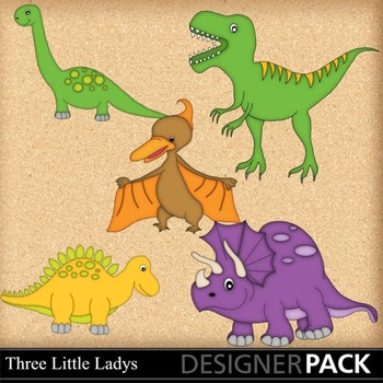 Dinosaur Clipart 1
