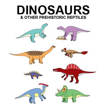 Dinosaur Clip Art - 50 pictures
