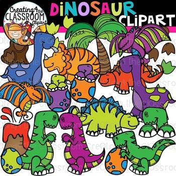 Dinosaur Clipart {Dino Clipart}