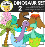 Dinosaur Clipart Set 2 {Digital Clips 4 Teaching}
