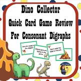 Dinosaur Collector - Consonant Digraphs Card Game