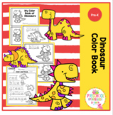 Dinosaur Color Book