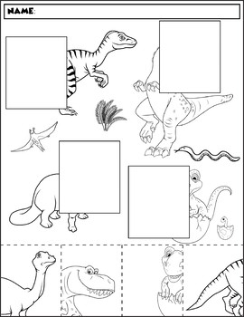 Dinosaur Color and Match | Group 2