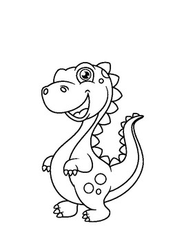 480+ Coloring Book Dinosaur Coloring Book Free Images