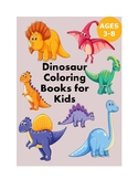 Dinosaur Coloring Books for Kids