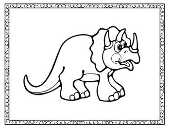 Preschool Dinosaurs | Dinosaur Coloring Book