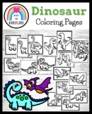Dinosaur Coloring Pages: T-Rex, Brontosaurus, Pterodactyl,