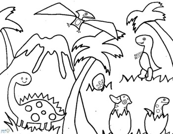 Printable Dinosaur Coloring Pages Coloring Pages Dinosaur Dinosaur ... | 270x350