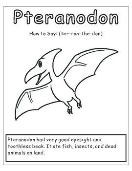 Dinosaur Coloring sheet- 9 Designs