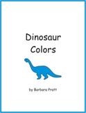 Dinosaur Colors Game and Coloring Pages eBook