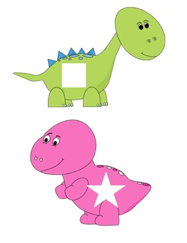 Dinosaur Colors Shape Matching and Patterns