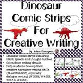 Comic Strips for Creative Writing - Dinosaur