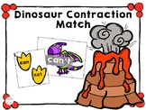 Dinosaur Contraction Match