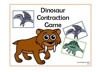Dinosaur Contractions Game