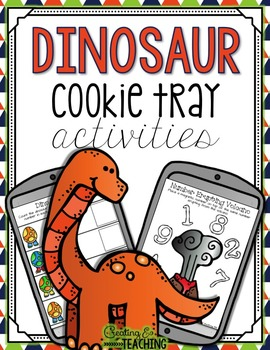 Dinosaur Cookie Tray Activities
