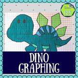 Dinosaur Coordinate Plane Picture