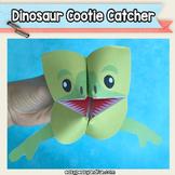 Dinosaur Cootie Catcher - Fortune Teller Craft