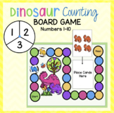 Dinosaur Counting Board Game (Numbers 1-10)
