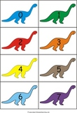Dinosaur Counting Flashcards: 0-50 eBook