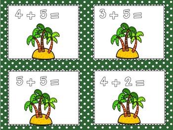 Dinosaur Counting Mats 1-20