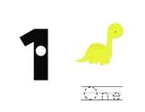 Dinosaur Counting Mats