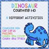 Dinosaur Counting (Numbers 1-10)
