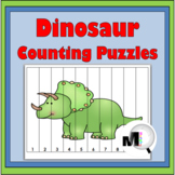 Number Puzzles for Kids Dinosaur Math