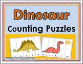 Dinosaur Math - Number Puzzles 1-10