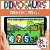 Dinosaur Counting Spikes BOOM Cards