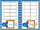 Dinosaur Counting Ten Frames 1 - 20 - Half Page Complete / Blank Sets