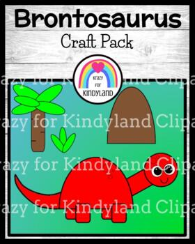 Dinosaur Craft for Kindergarten: Brontosaurus