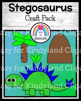 Dinosaur Craft: Stegosaurus
