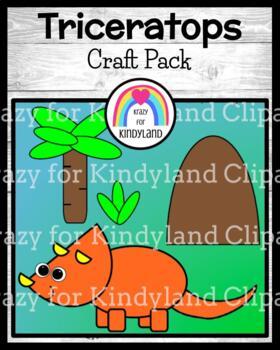 Dinosaur Craft: Triceratops