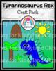 Dinosaur Craft Pack: Pterodactyl,Triceratops,Stegosaurus,T-Rex,Brontosaurus