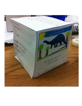 Dinosaur Cube Report!