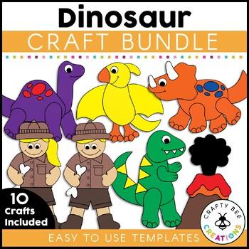 Dinosaur Cut and Paste Set