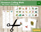 Dinosaur Cutting Strips
