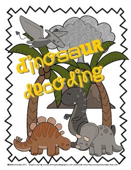 Dinosaur Decoding ... Prehistoric-Themed Nonsense Word Game