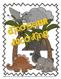 Dinosaur Decoding ... Prehistoric-Themed Nonsense Word Game