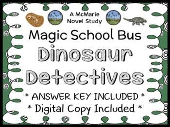 Dinosaur Detectives (Magic School Bus #9) Novel Study / Co