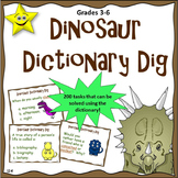 Dictionary Skills, 200 Task Cards