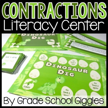 Dinosaur Dig: A Contraction Center Activity