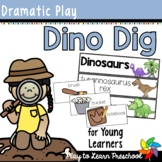 Dinosaur Dramatic Play