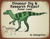 Dinosaur Dig & Research Project-Junior Level- MidnightStar