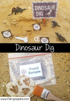 Dinosaur Dig Role Play Pack