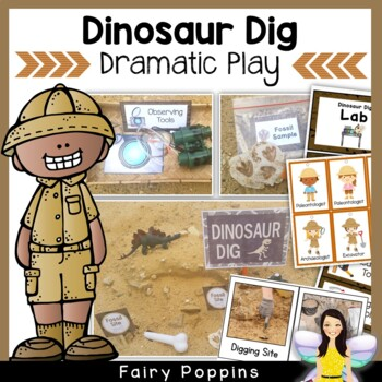 Dinosaur Dig Dramatic Play