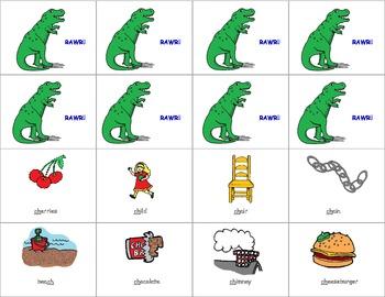 Dinosaur Digraph Game
