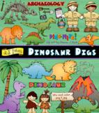 Dinosaur Digs Clip Art Download