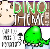 Dinosaur Dino Theme Classroom Decorations and Management Mega Bundle