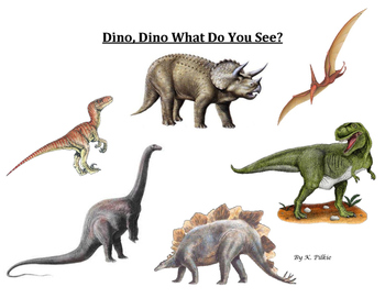 Dinosaur, Dinosaur What Do You See?
